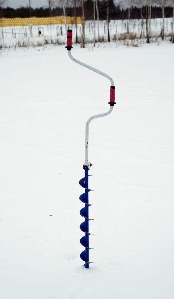 A professional drilling auger