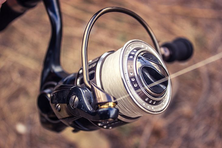 Attach The Line To The Spool Reel