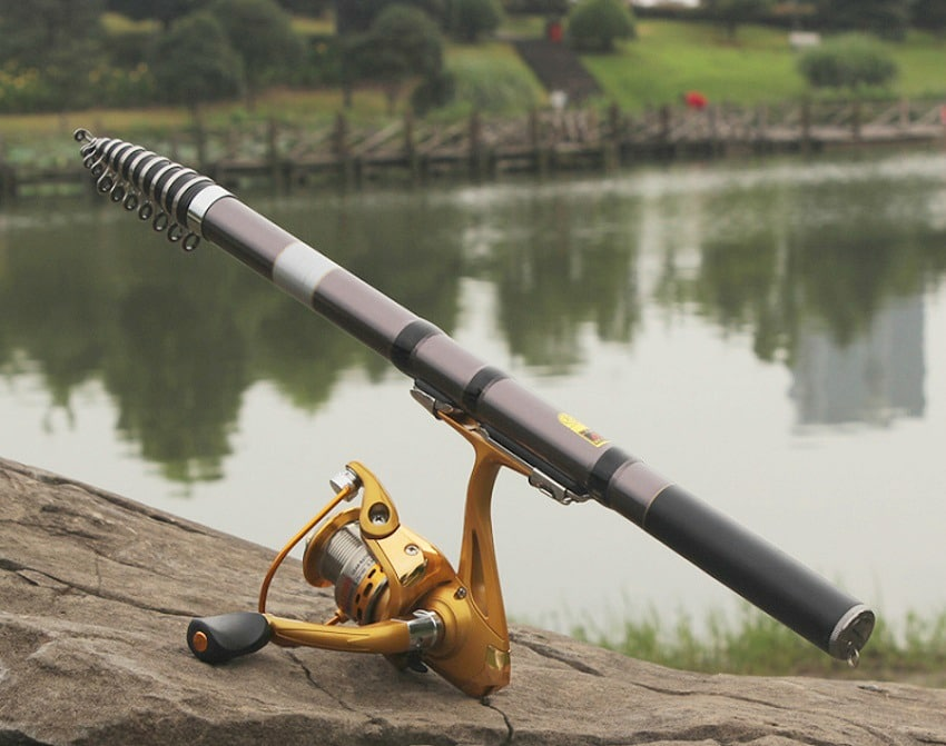 collapsible fishing rod