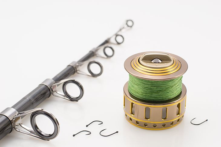 Spooling A Braided Fishing Line