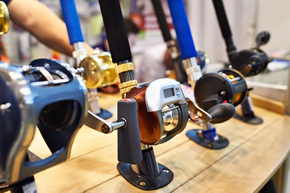 Bait Casting Reels Are Also Mounted On Top Of The Rod