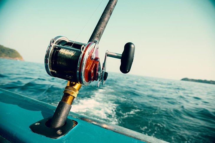Trolling Reel For Big Game Fishing