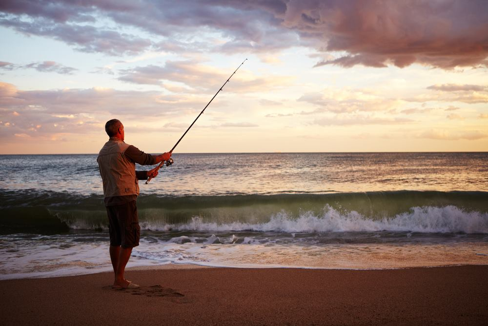 Contrary to the common misconception, you do not need a 12-inch rod for surf fishing.