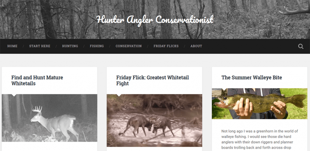 Hunter Angler Conservationist