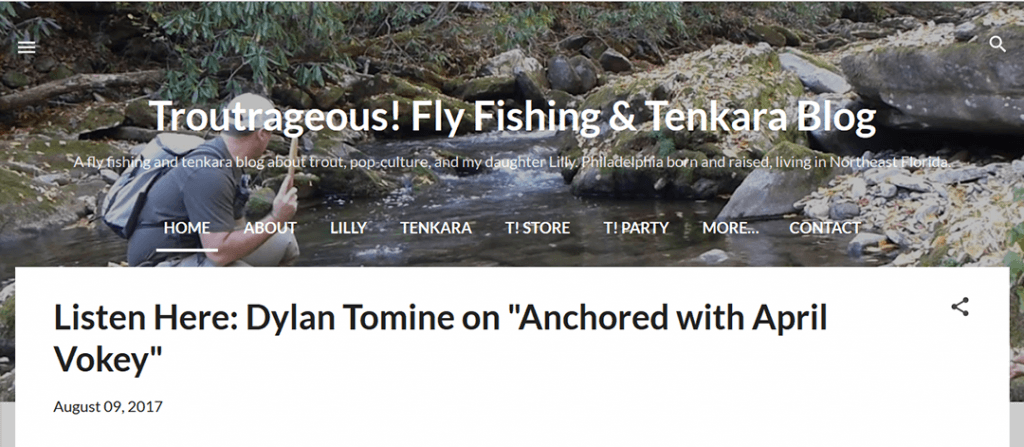 Troutrageous! Fly Fishing & Tenkara Blog