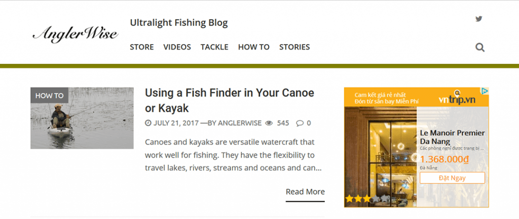 Ultralight Fishing Blog