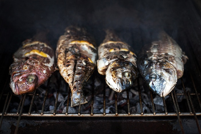 Cooking Your Fish Over Coals