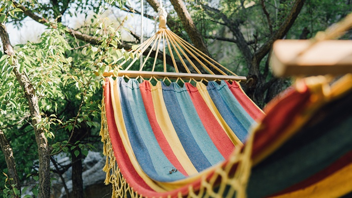 Weather-proofing hammock
