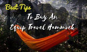 equip travel hammock